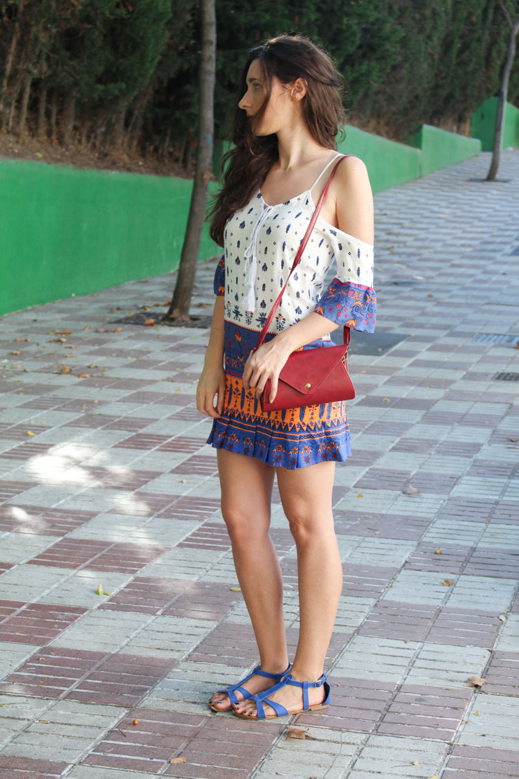 OOTD: bohemian dress
