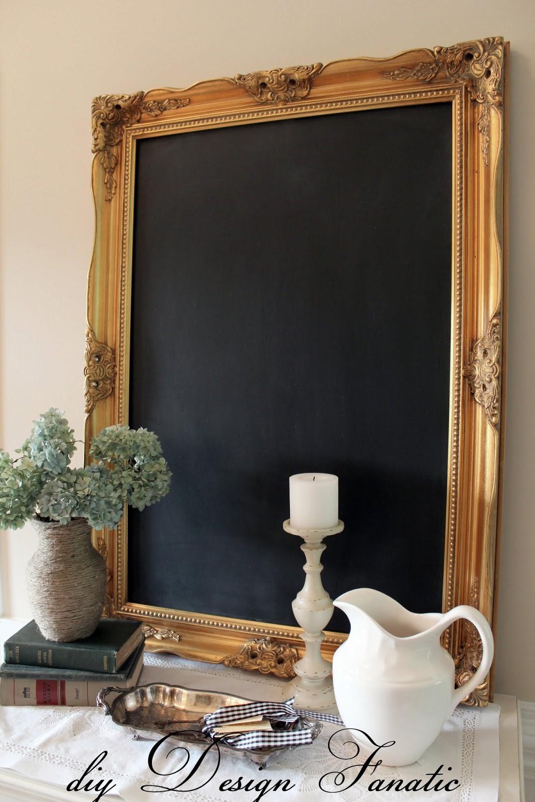 framed chalkboard diy framed chalkboard - Diy Framed Chalkboard