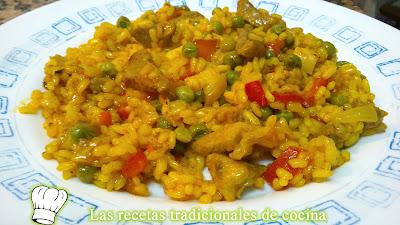 arroz milanesa