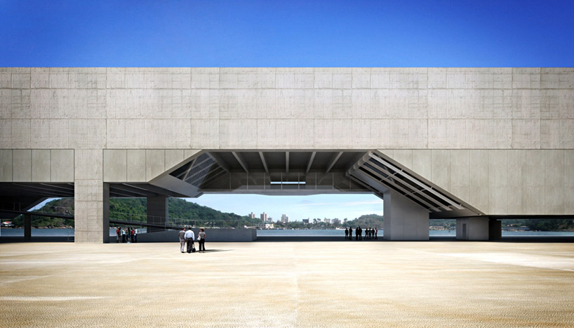 Metro arquitetos paulo mendes da rocha cais das artes - Arquitectos vitoria ...