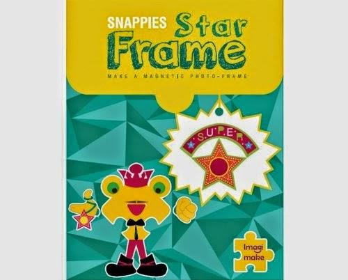 Imagimake Star Frame: Make Your Own Magnetic Photo Frame
