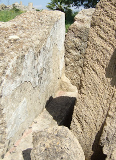 Vielleicht Teile von Tempel C von der Akropolis Selinunt