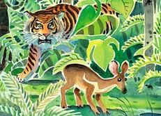 Kancil Mengalahkan Harimau - Ramaja Gandhi
