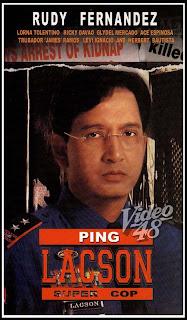 Ping Lacson: Super Cop [Rudy Fernandez] Poster