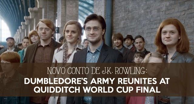 Novidades - Divulgado novo conto de J.K. Rowling sobre o futuro dos personagens de Harry Potter