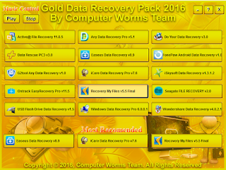 Gold Data Recovery Pack 2016