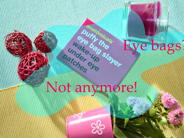 REVIEW   Anatomicals Puffy the eye bag slayer Wake-up under eye patches
