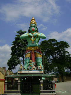 Anjaneya in green colour, Maruti, Anjaniputra