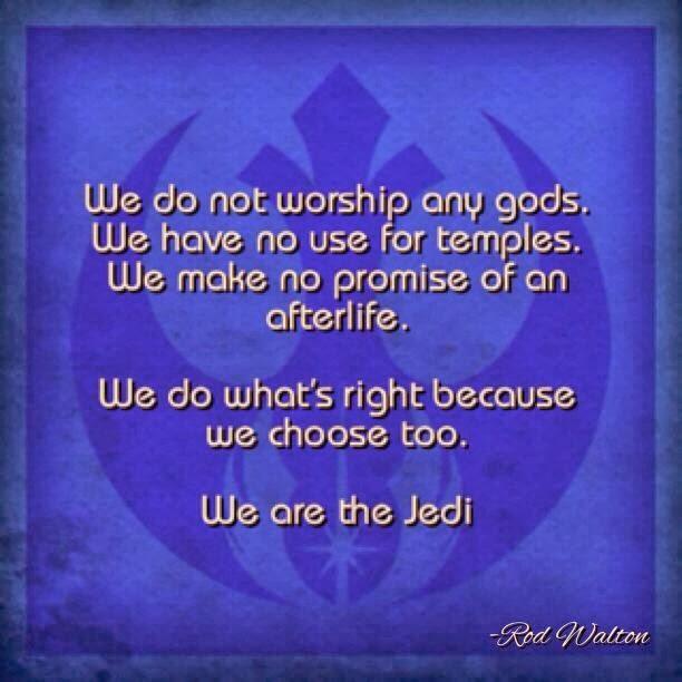 We are Jedi