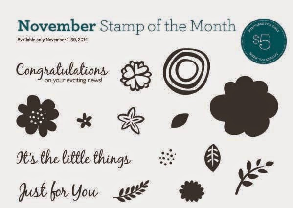 Close to My Heart November Stamp of the Month