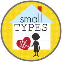 Small Types Blog Buton