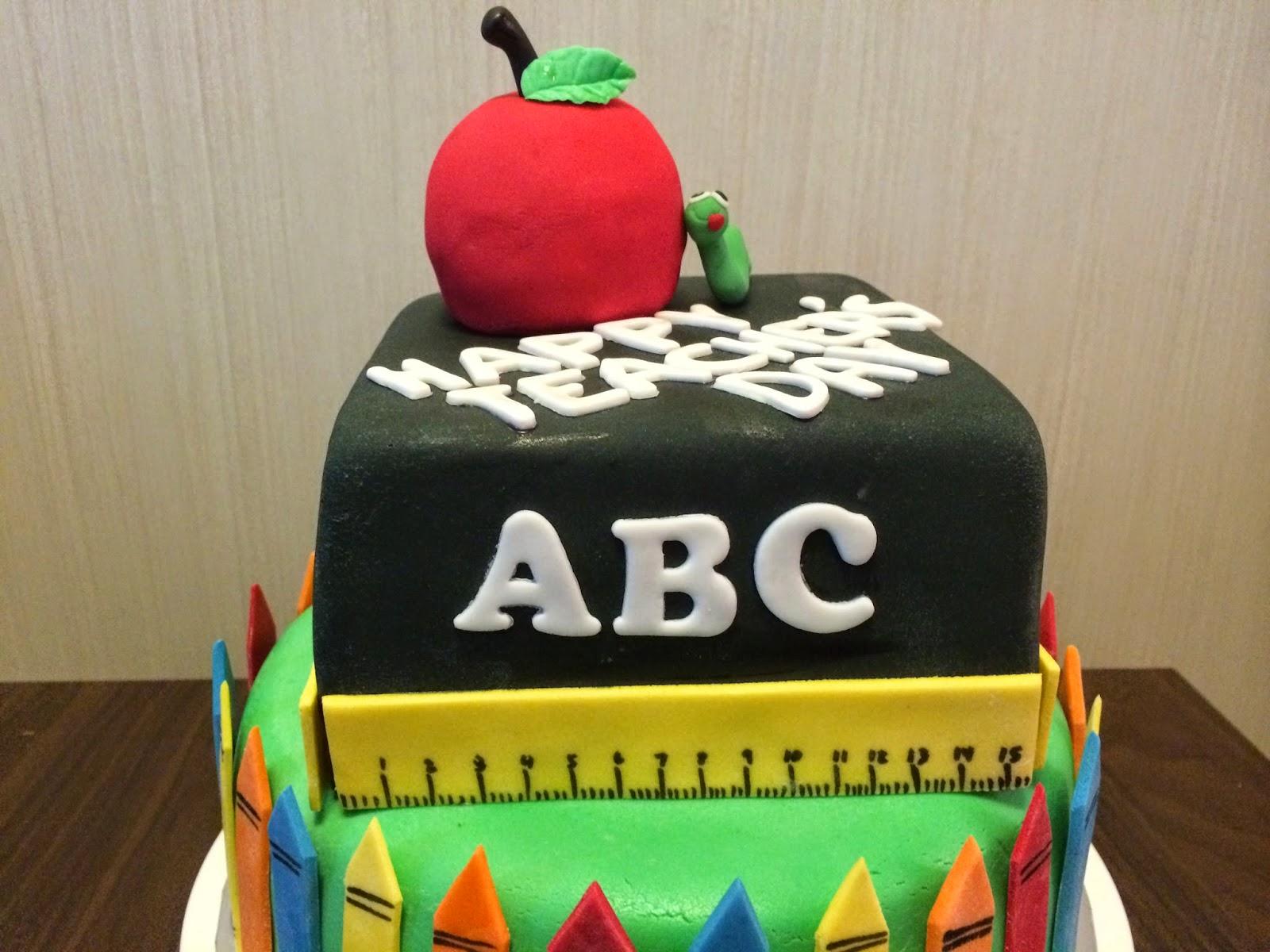 Teacher s Day Cake Crissa s Cake Corner!