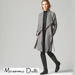 MASSIMO DUTTI Coat BOTTEGA VENETA Clutch