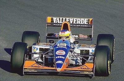 Minardi, equipe histórica de Formula 1 de 1994 - by museof-1.blogspot.com