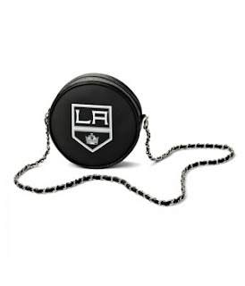 Los Angeles Kings NHL Hockey Puck Crossbody Bag