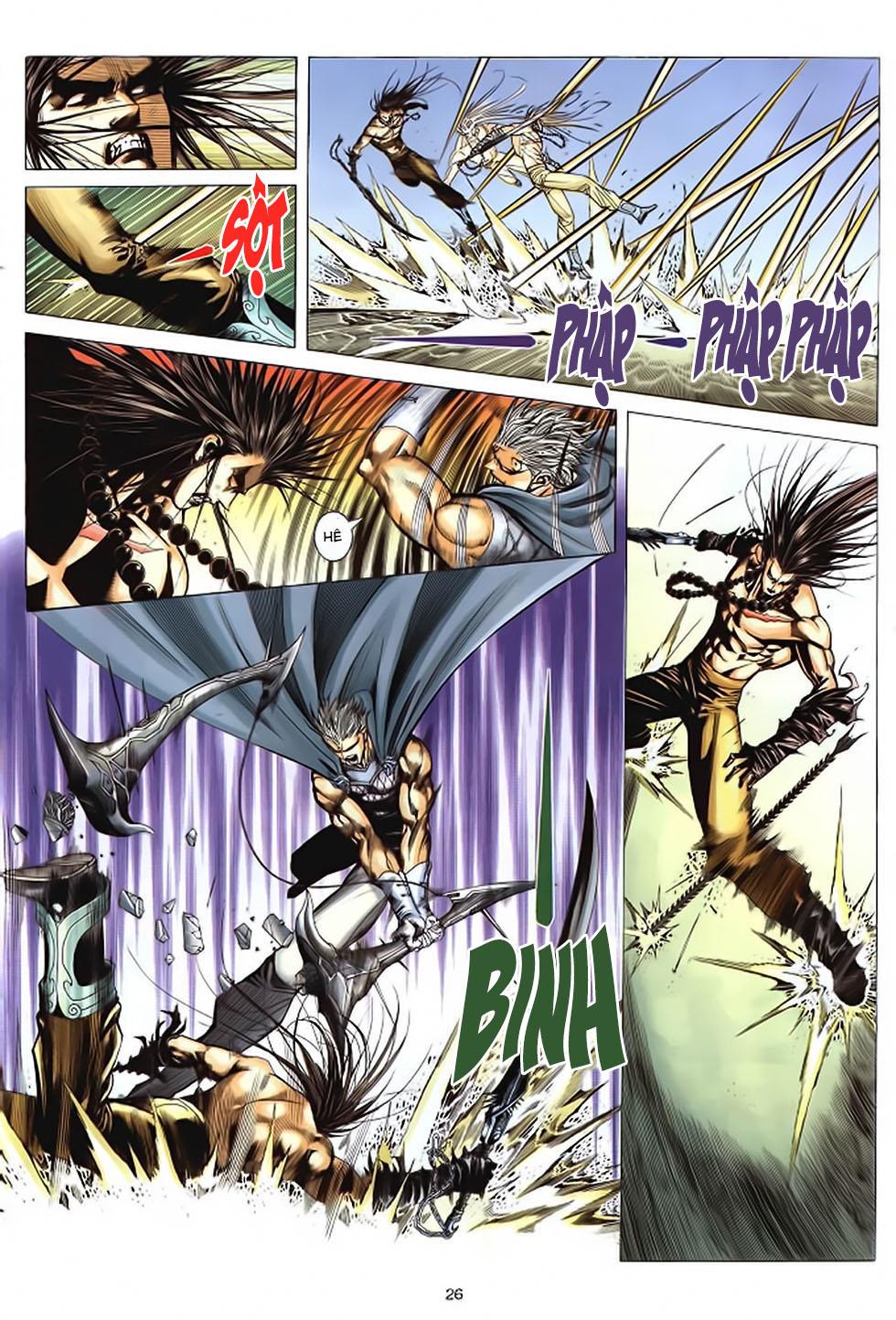 Chiến Thần Ký chap 39 - Trang 27