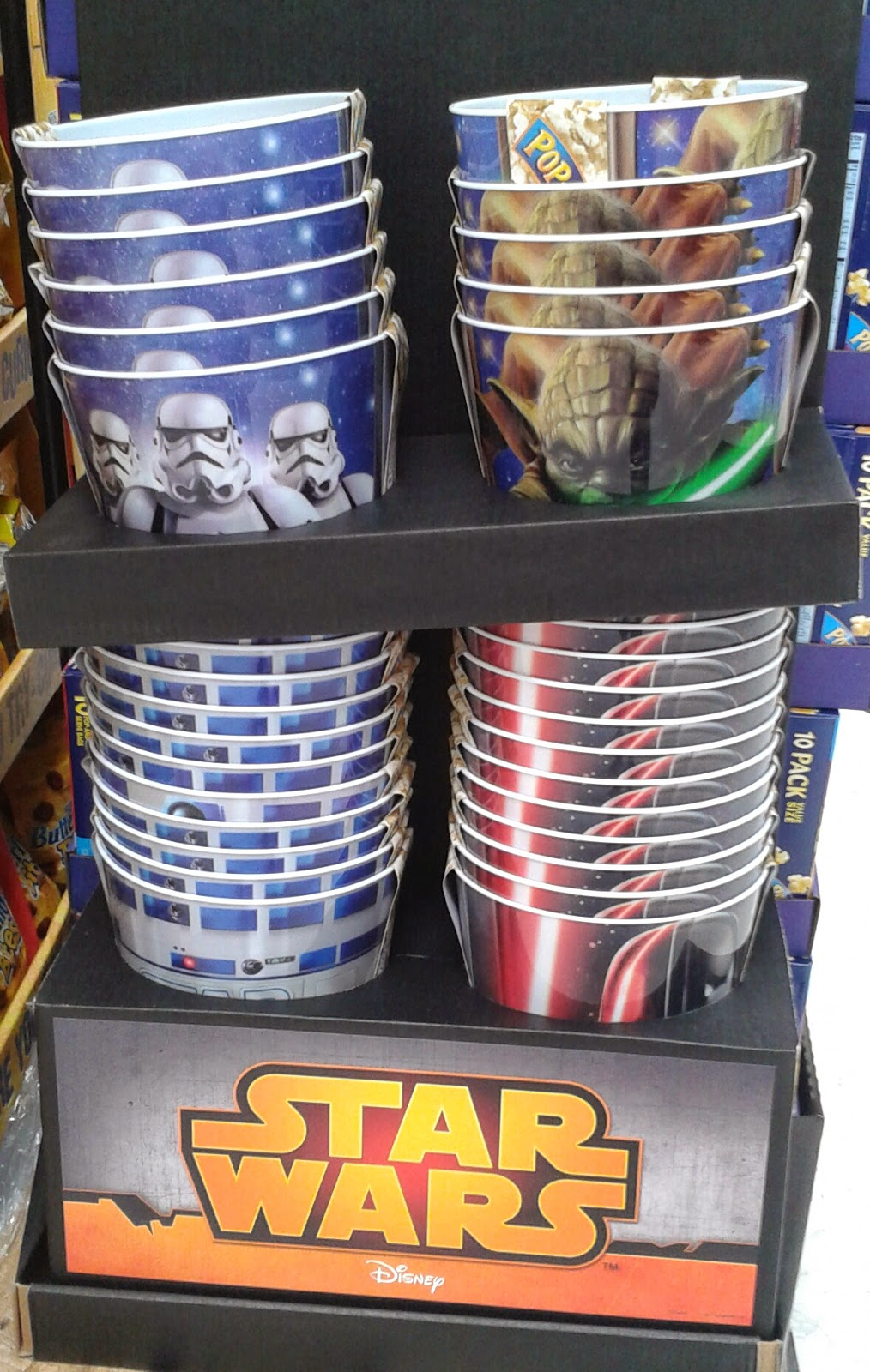 Disney at heart unexpected star wars merchandise for Merchandising star wars