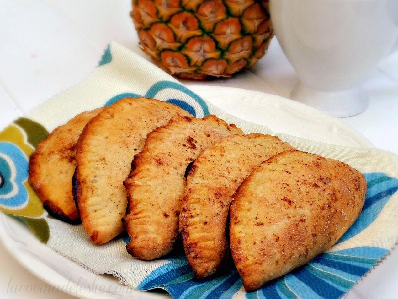 Empanadas de Piña - lacocinadeleslie.com