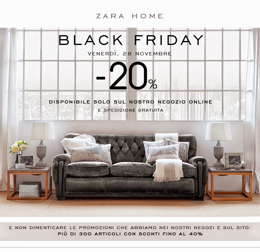 the zara home black friday online 2014