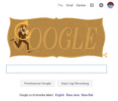 Adolphe Sax - Google Doodles