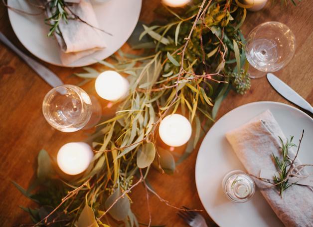 Decorar de forma económica una mesa + DIY