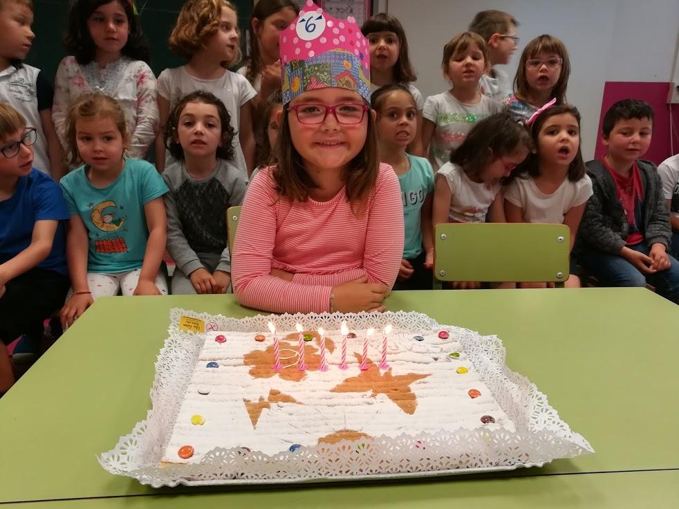 Na Clara ja té 6 anys!!