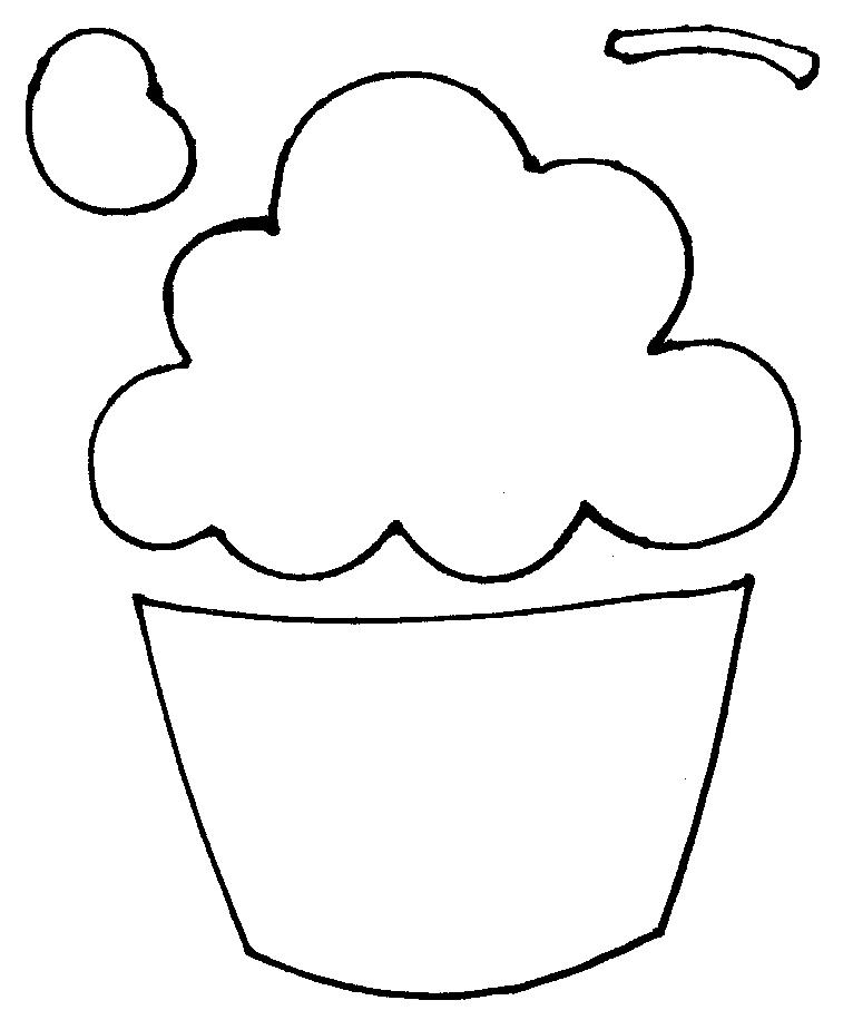 Cupcake Cut Out
