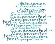 COMPUTERS FOR EDUCATION