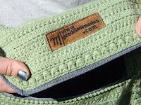 Punto fantasía bolso de ganchillo