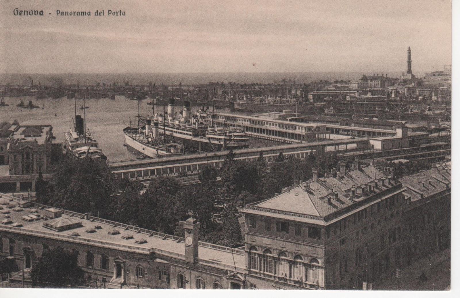 C 39 era una volta genova genova il porto la stazione - Genova porta principe ...