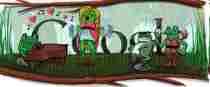 Gioachino Rossini y año bisiesto doodle de Google