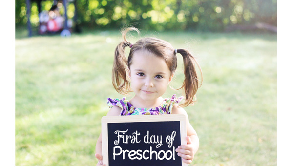 Sienna's First Day Of Preschool Cute Kid Quotes At Home With Natalie Enchanting Cute Children Quotes And Sayings