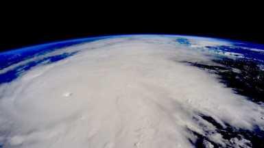 Impactante imágen del Huracán Patricia tomado desde la Estación Espacial Internacional
