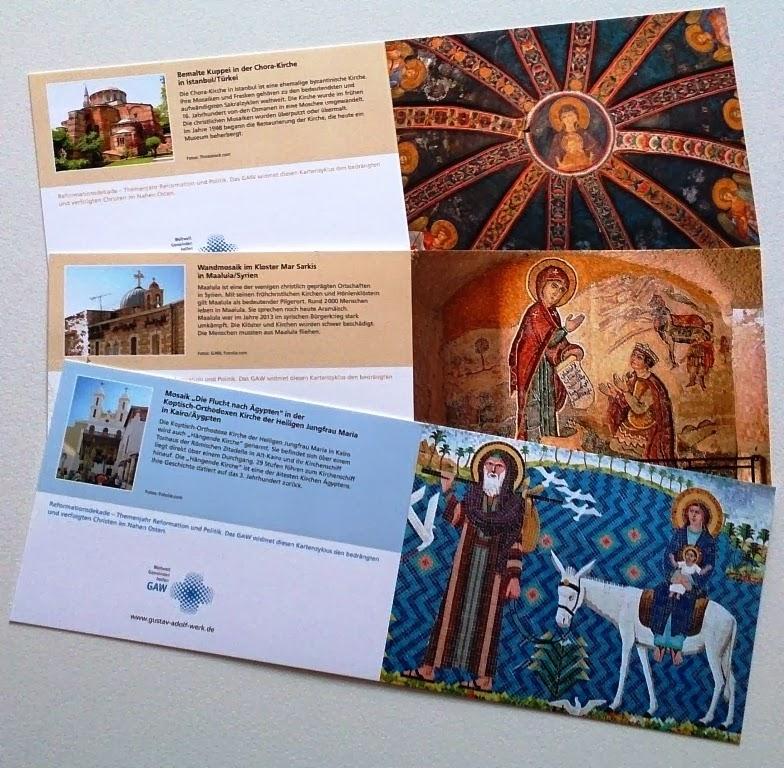 Glauben verbindet: Neue Postkartenserie des GAW!