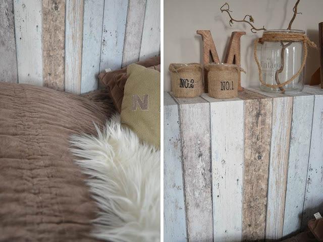 Villaveien nr 1: min nye sengegavl....