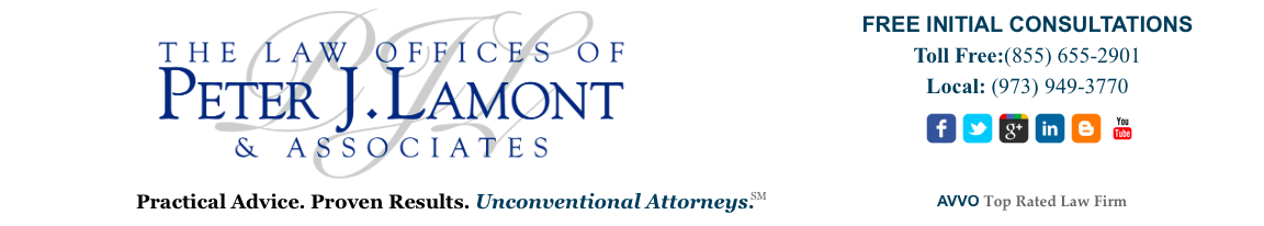 Law Offices of Peter J. Lamont Top Rated Business Law Attorneys