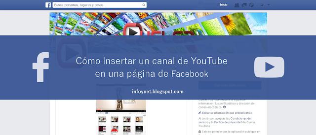 Cómo insertar un canal de YouTube en una página de Facebook