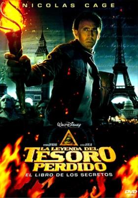 Leyenda tesoro perdido 2 - Nicolas Cage