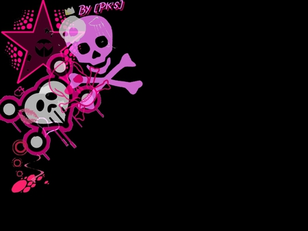 pink skull wallpapers 1 Pink Skull Wallpaper