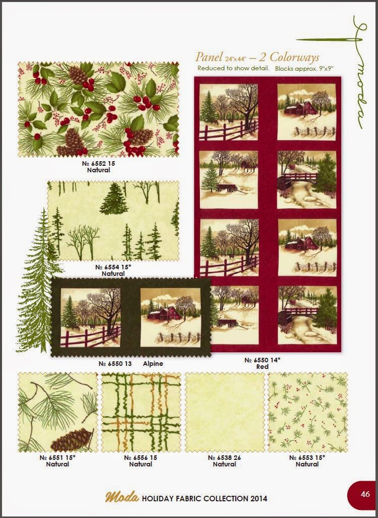Quilt market and through the winter woods do you have it yet