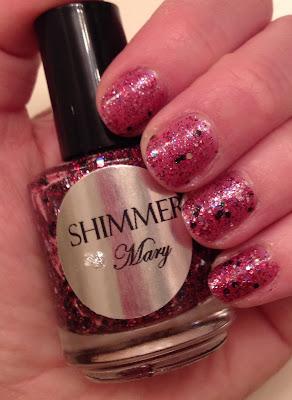 #ManiMonday, manicure, Mani Monday, Shimmer Polish, Shimmer Polish Mary, nail polish, nail lacquer, nail varnish, nails, manicure