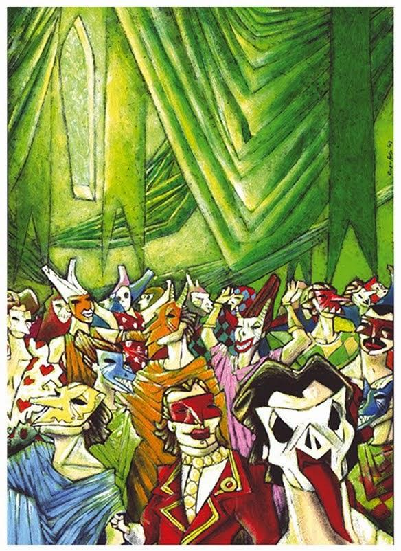 """""""La máscara de la Muerte Roja"""" 1D3"""