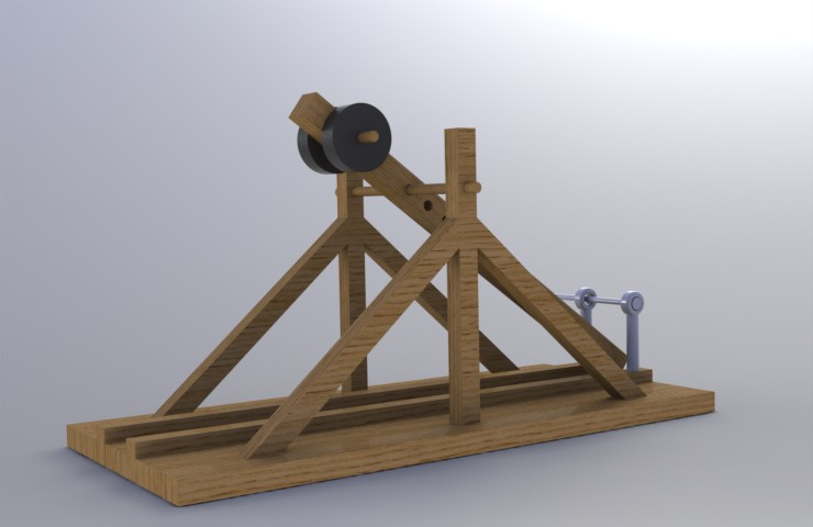 how does a trebuchet work essay Essays papers - catapulting  and the trebuchet  how does a catapult work.