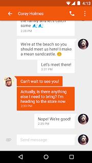 Google Messenger Lolipop 2