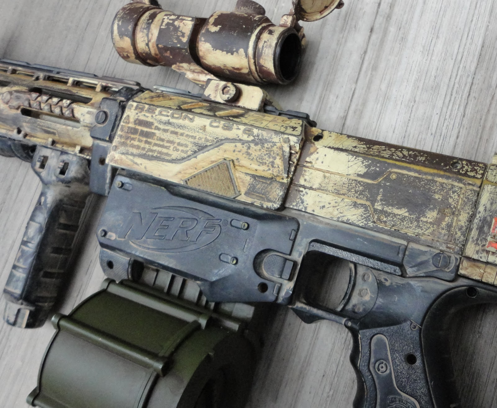 Spray Paint Nerf Guns Spectre Rev
