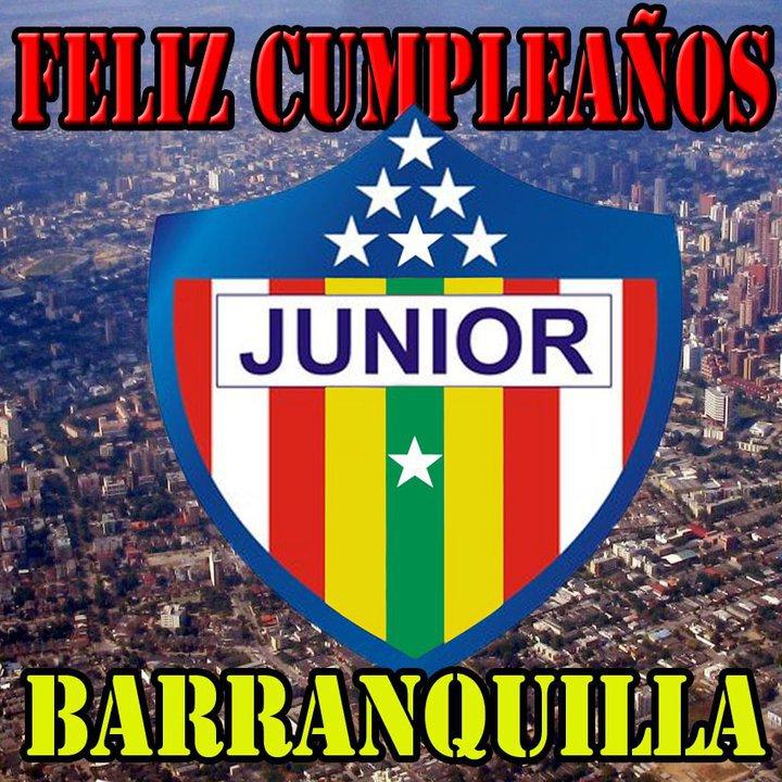 Junior De Barranquilla Feliz Cumplea U00f1os