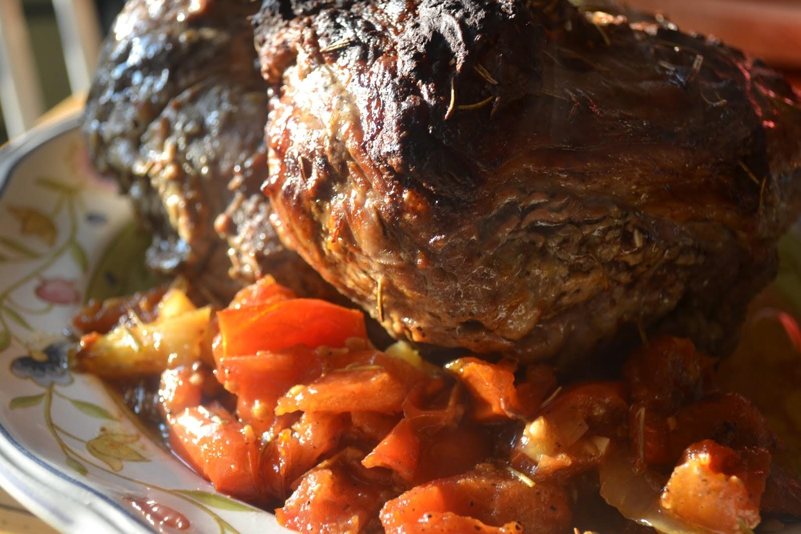 oven roasted leg of lamb