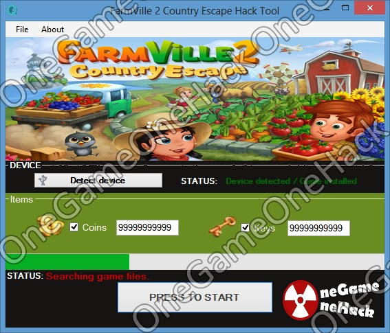 FarmVille 2 Country Escape Hack Tool Features: