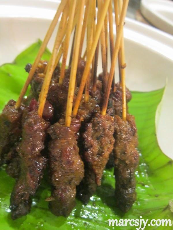 Beef Satay-Nook-Aloft Hotel Kuala Lumpur