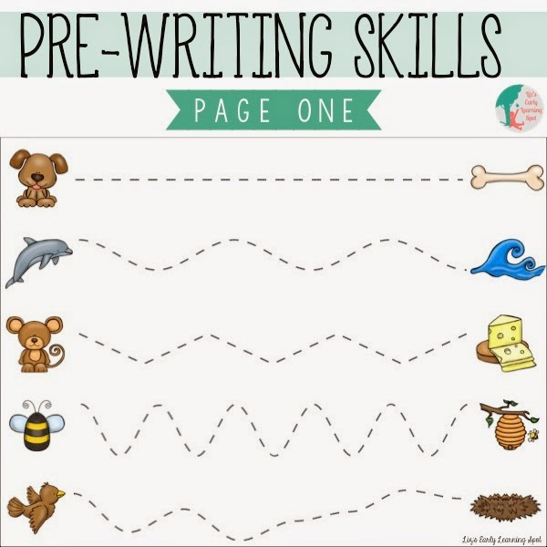 Classroom Freebies Too: Essential Pre-Writing Skills: I Can Trace ...